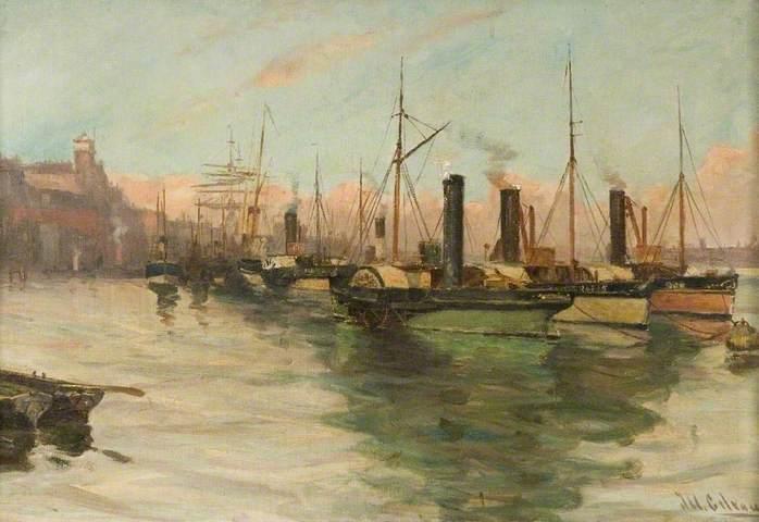 Джон Уильям Гилрой, живопись