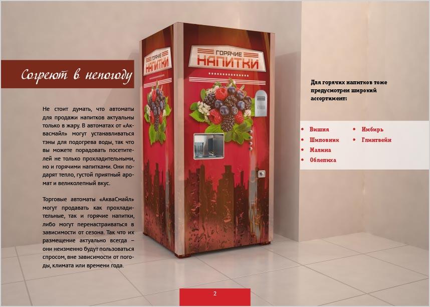 презентация для автоматов газировки