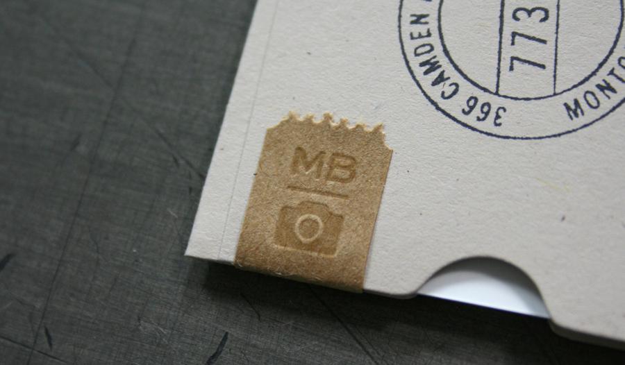 дизайнерские визитки фотографа Michael Barley