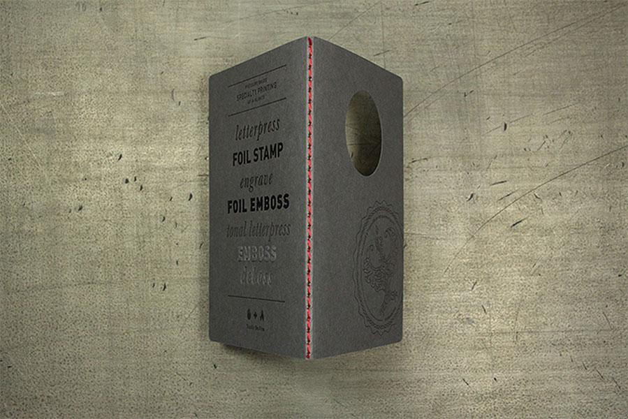 Дизайнерский буклет из Европы