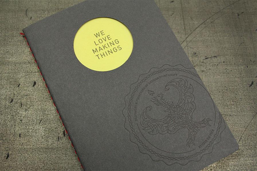 Дизайнерский буклет