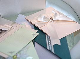 Дизайнерские приглашения на свадьбу