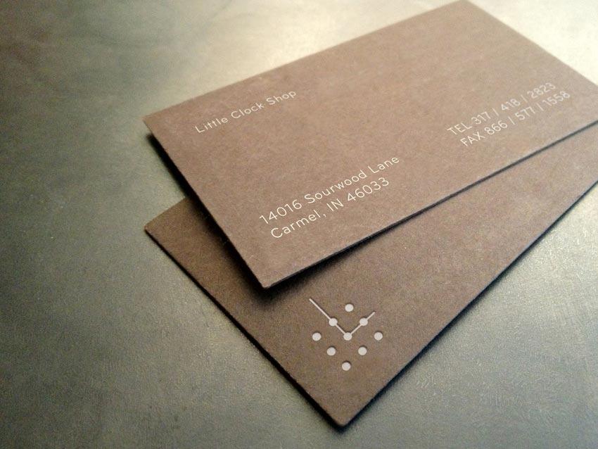 дизайнерские бумаги для визиток