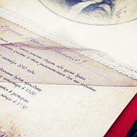 Приглашение на венчание, ручная работа