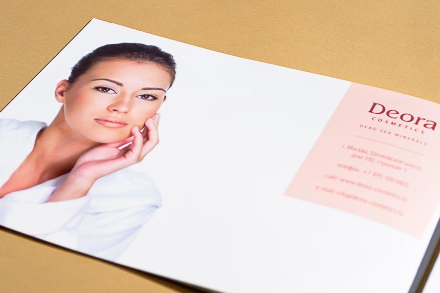 разработка брошюры для израильского производителя косметики