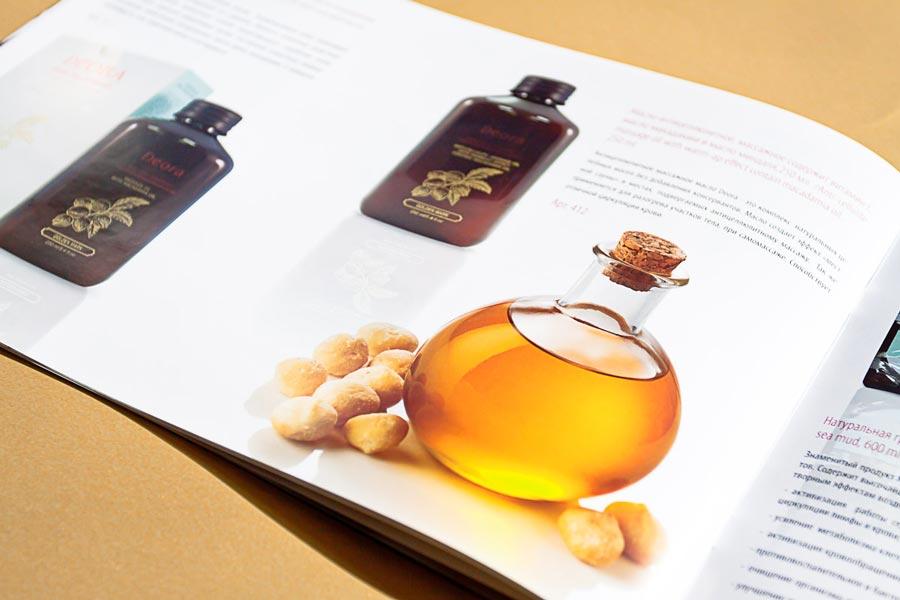 дизайн брошюры для косметической компании