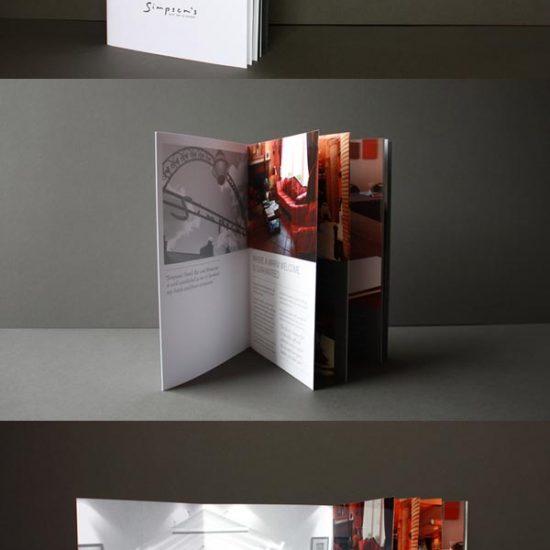 дизайн брошюр