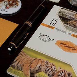 дизайнерские приглашения для Центра амурских тигров