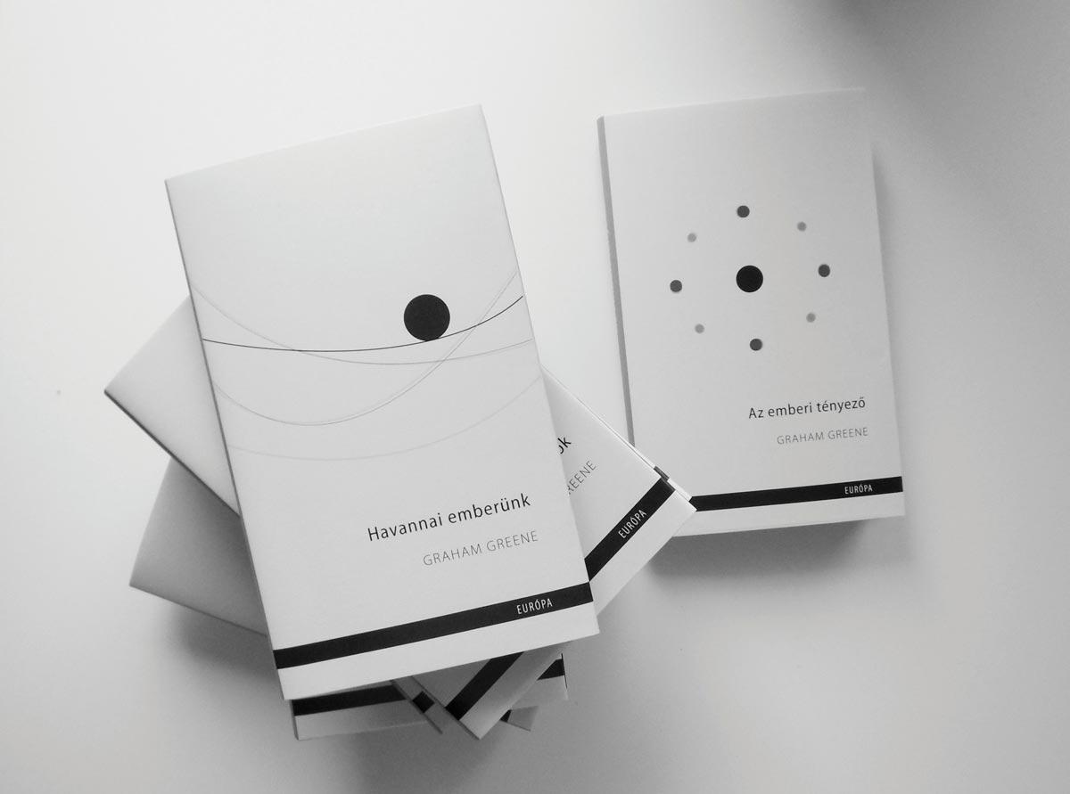 минималистичная черно-белая обложка