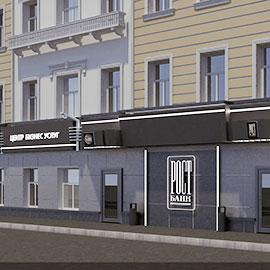 фасад банка в Петербурге