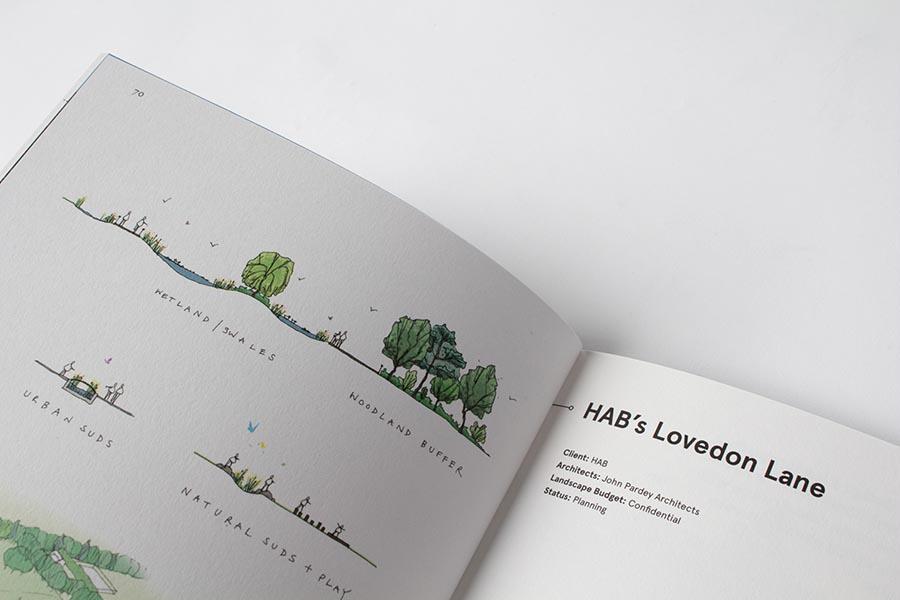 архитектурная брошюра из англии