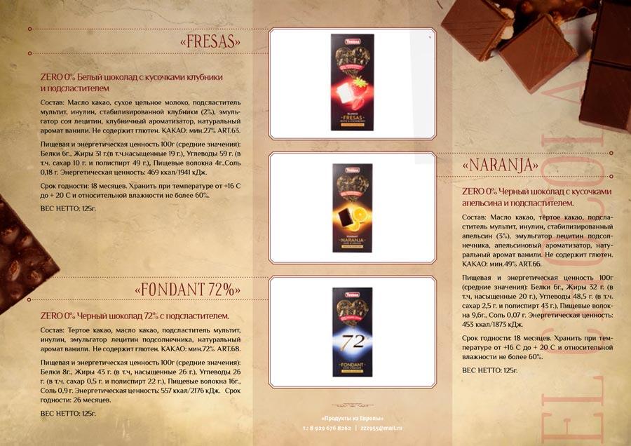 создание презентации Torras, раздел каталог
