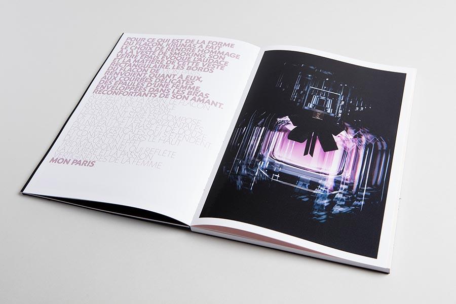 Черная брошюра YSL