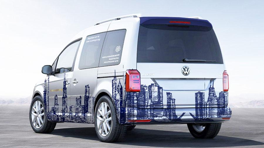дизайн корпоративного транспорта