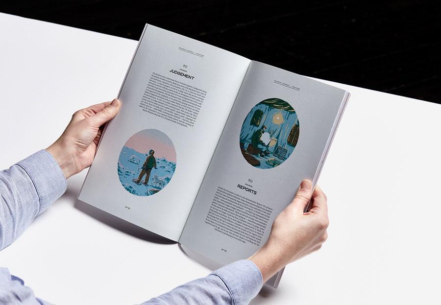 дизайн корпоративного журнала