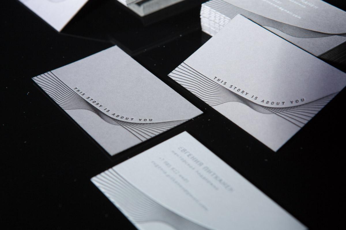 печать премиальных визиток