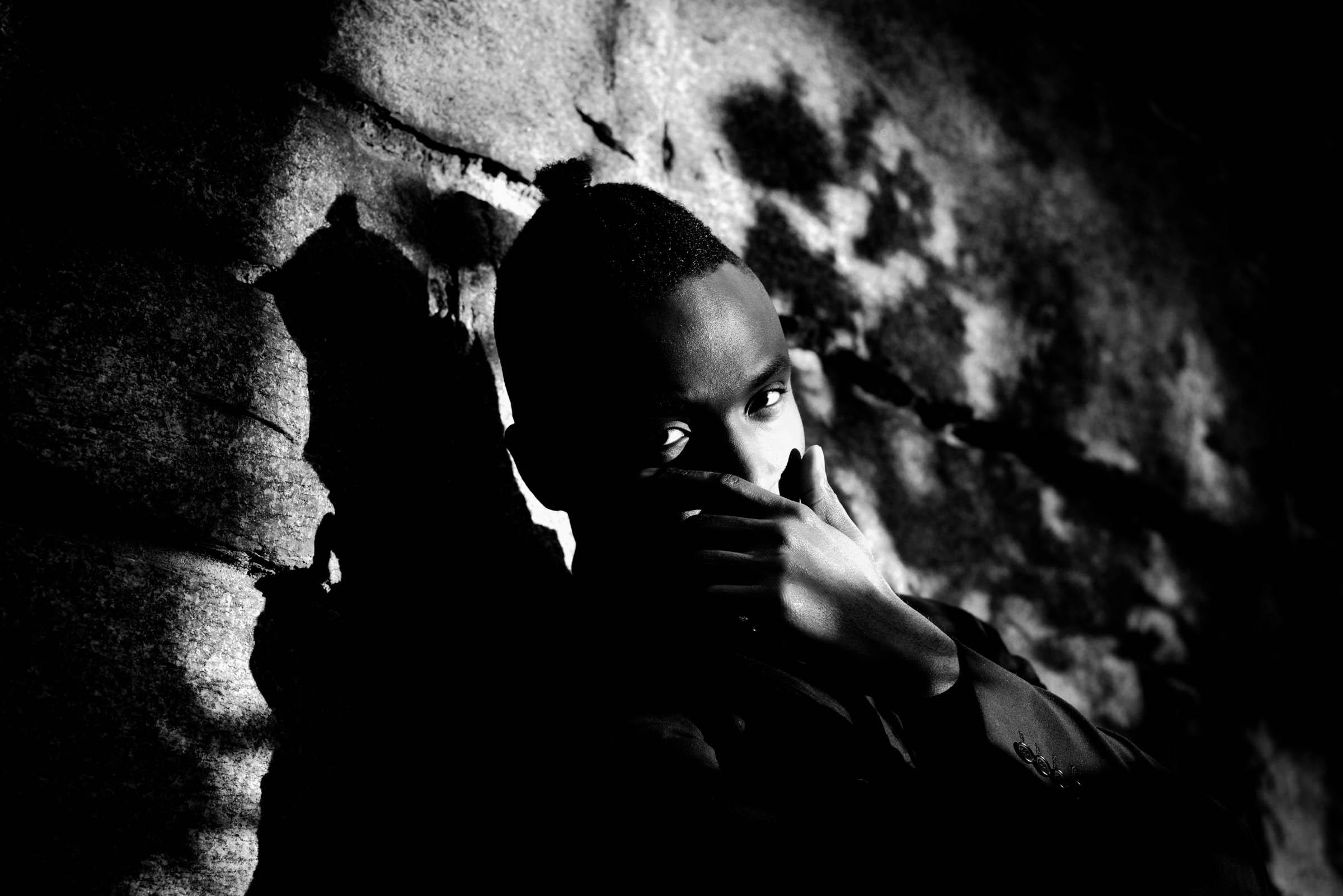 фотосъемка сердце черного мужчины