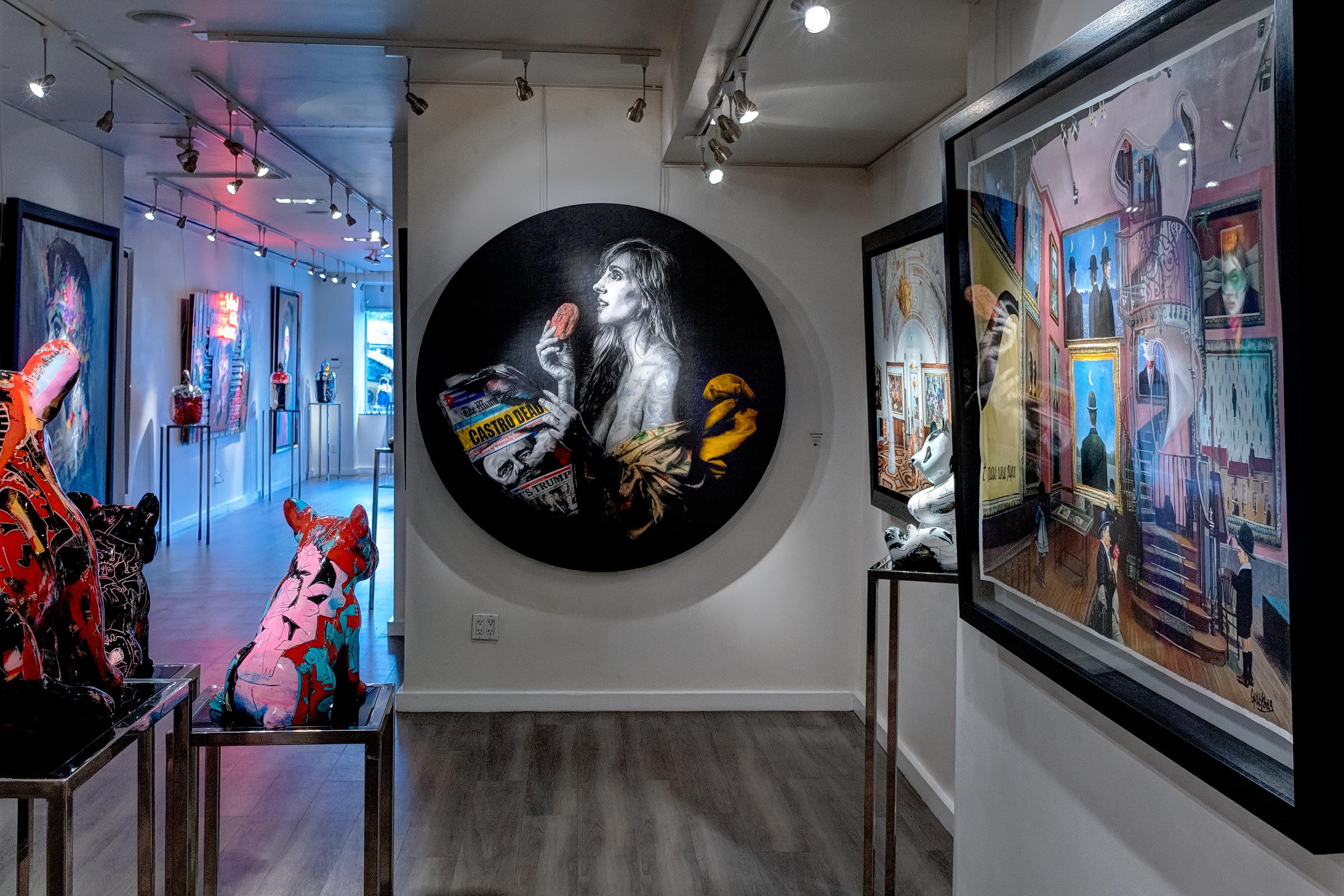 фото и видео съемка лоя картинной галереи в Нью-Йорке