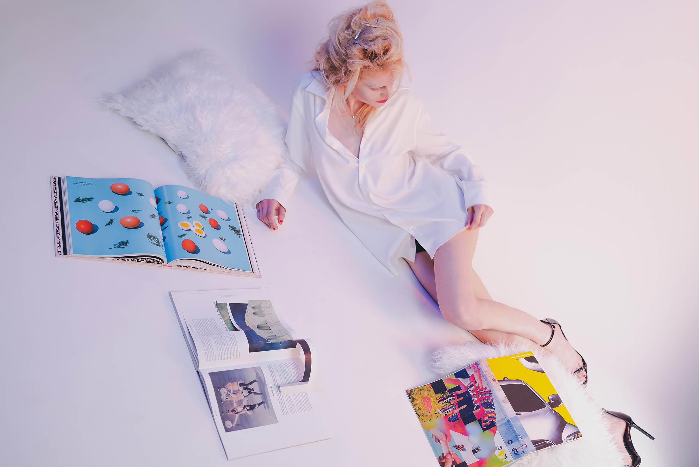 арт-проект для публикации в модном журнале